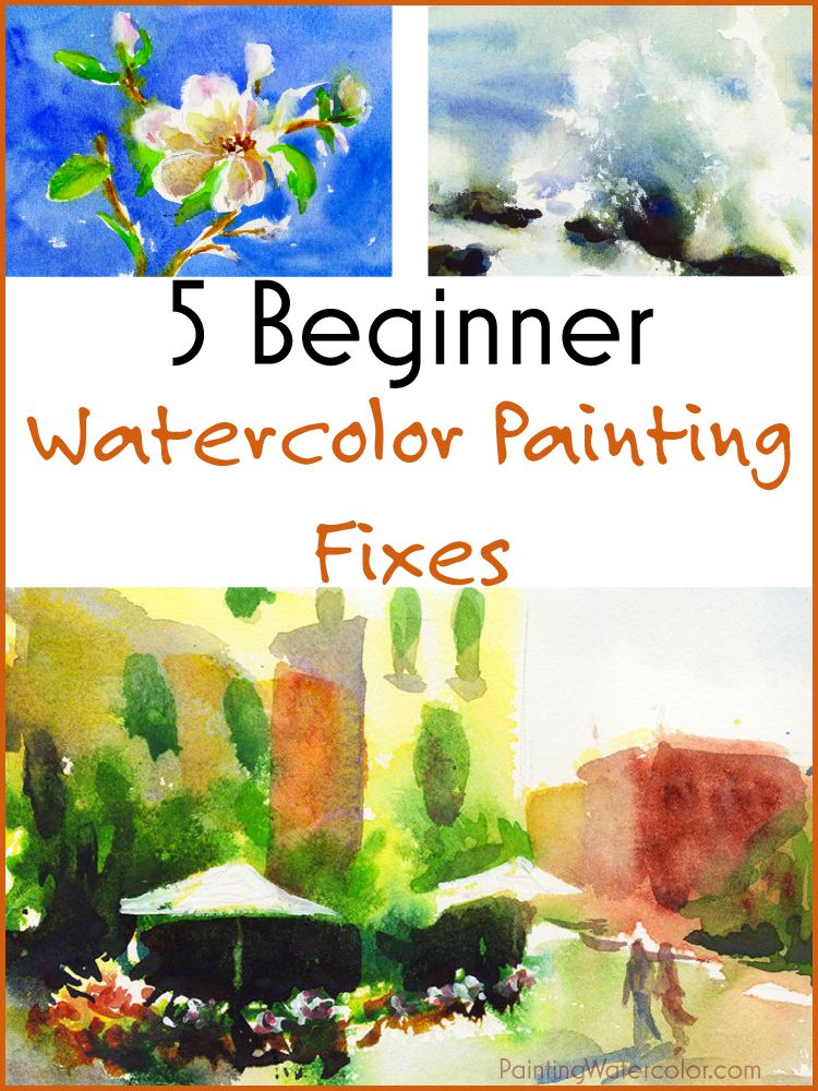 5 Ways to Fix Watercolor Paintings